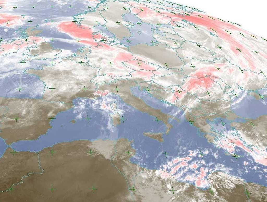 Previsioni del tempo in Italia fornite dal Servizio Meteorologico dell'Aeronautica Militare
