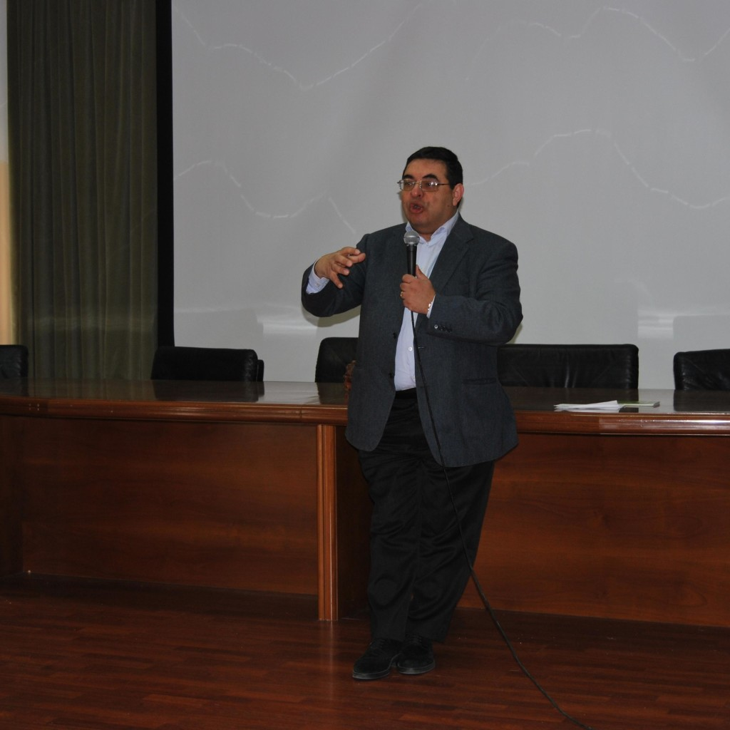 Conferenza del Prof. D'Andrea al'Iti Majorana di Milazzo