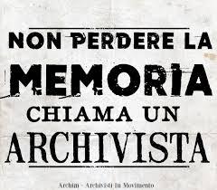 Un esercito di archivisti