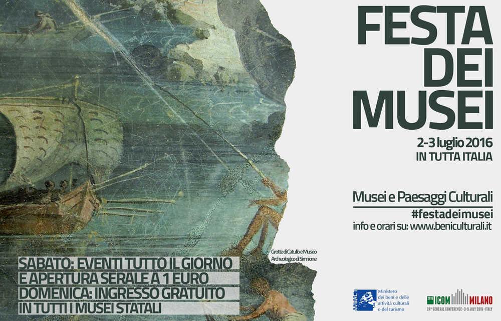 Museo Nazionale Archeologico della Sibaritide – Cassano allo Ionio (Cosenza)  Sabato 2 e domenica 3 luglio 2016