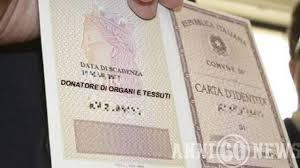 Milazzo. Donazione degli organi sulla carta d'identità