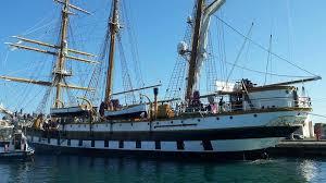 La nave Palinuro lascia Milazzo. Straordinaria esperienza