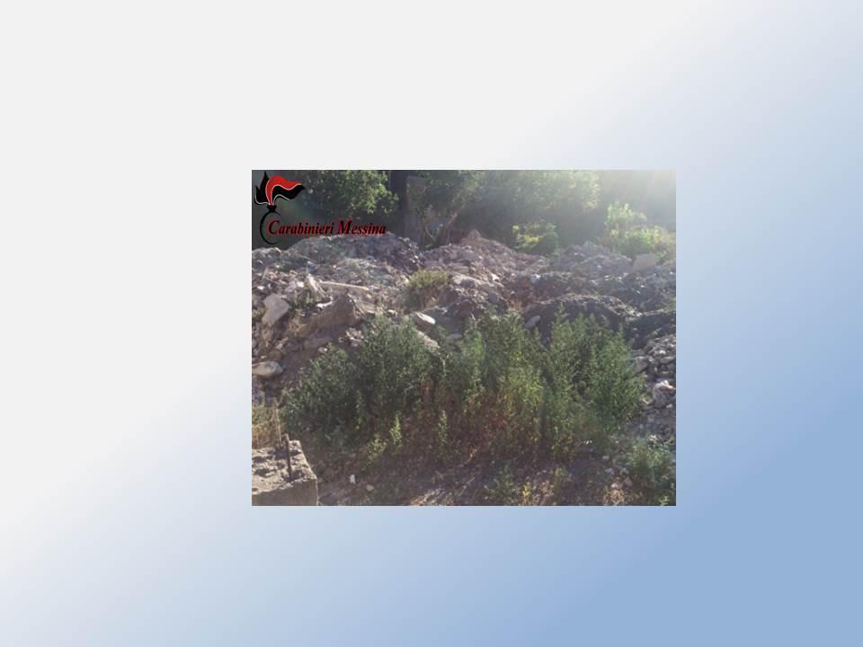 Scaletta Zanclea: scoperta discarica abusiva di rifiuti speciali, denunciato un imprenditore edile