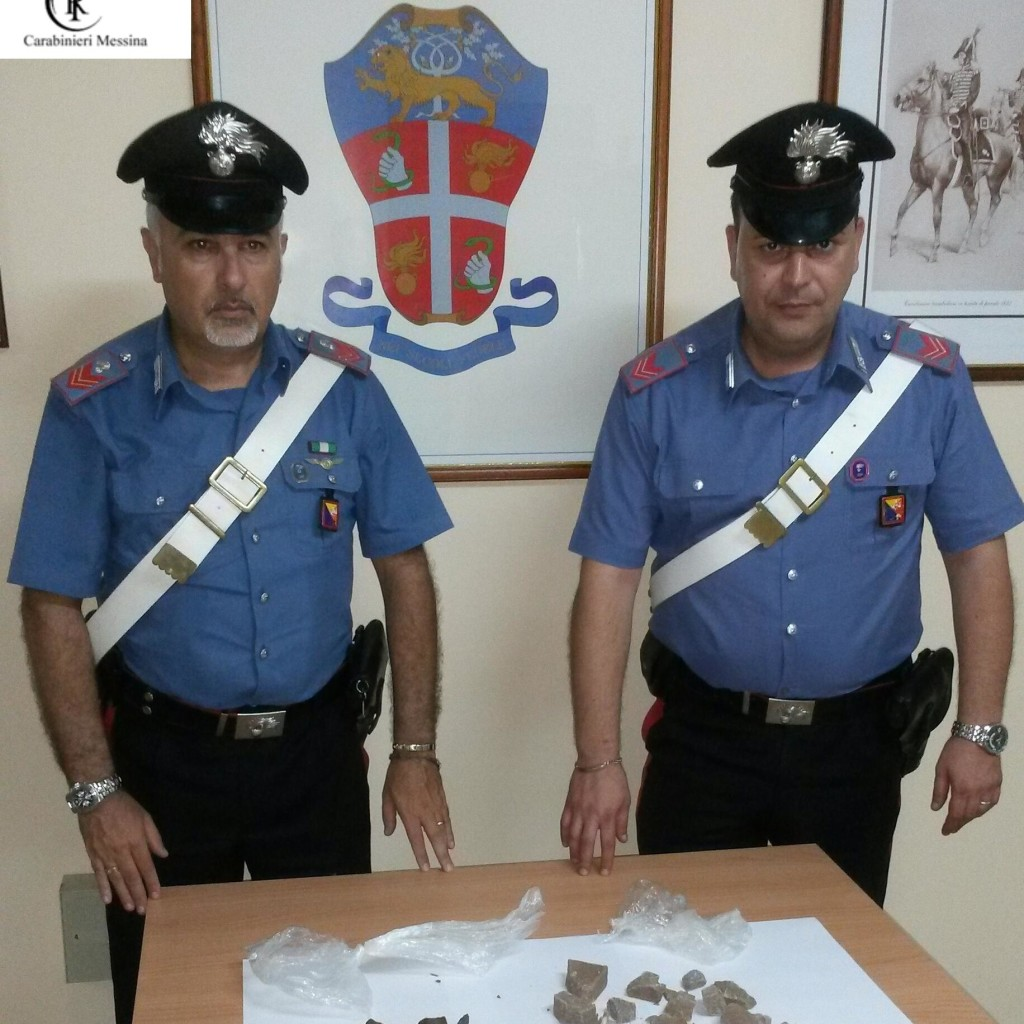 Messina: sorpresi con eroina e cocaina in macchina, arrestati due corrieri dai carabinieri