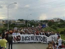I cittadini contro l'inceneritore del Mela