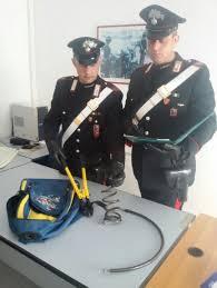 34enne  di Scauri arrestato dai Carabinieri del luogo