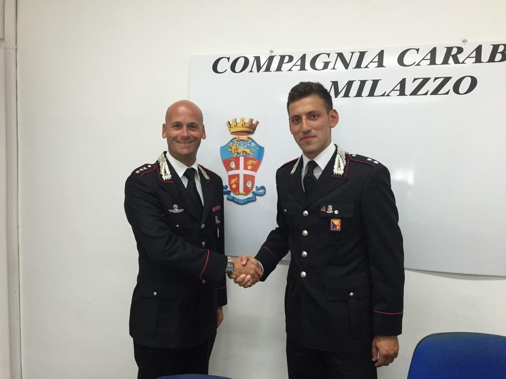 Cambio della guardia alla Compagnia Carabinieri di Milazzo