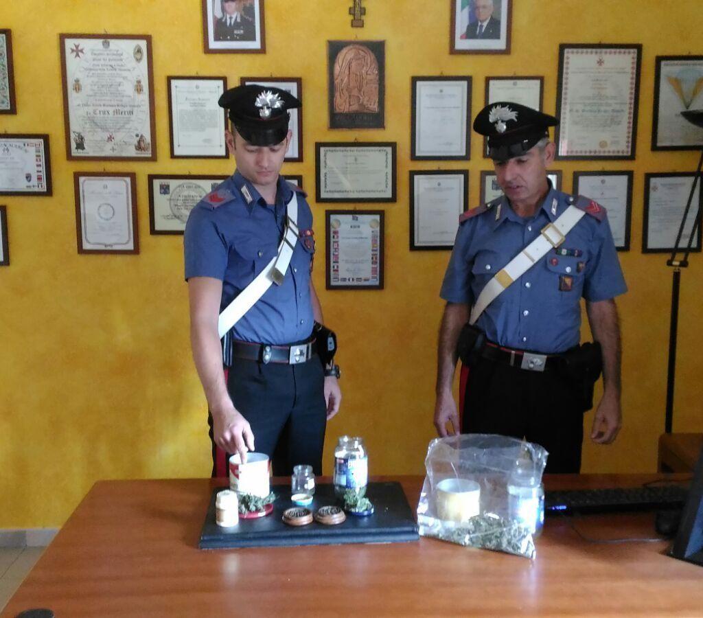 Rometta (ME), i carabinieri lo sorprendono con droga in casa