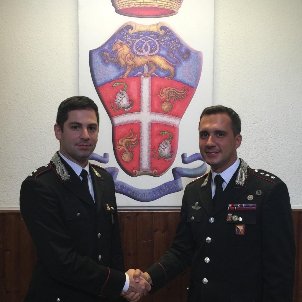 Patti, cambio guardia Compagnia Carabinieri