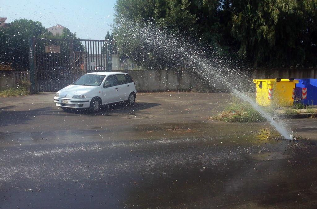 Disagio idrico a Milazzo nella via Ciantro
