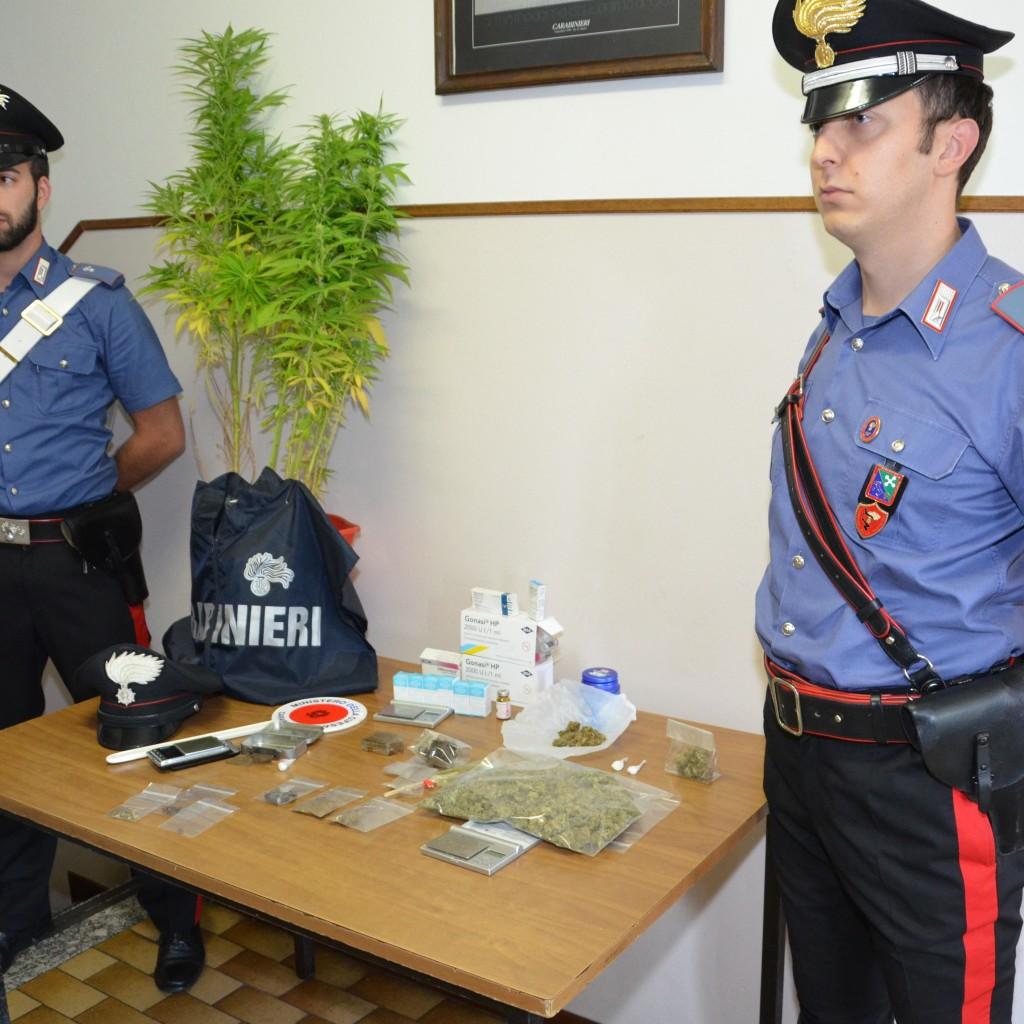Menaggio. Un arresto dei Carabinieri per droga in abitazione