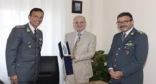 VISITA DEL COMANDANTE INTERREGIONALE DELL'ITALIA SUD-OCCIDENTALE GEN. C.A. GIUSEPPE VICANOLO AL COMANDO PROVINCIALE