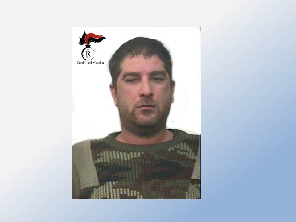 I Carabinieri del N.O.R. di Barcellona P.G arrestano un pregiudicato di Santa Lucia del Mela