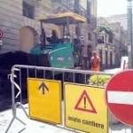 Milazzo, giorno 24 lavori nella sede stradale di via Impallomeni