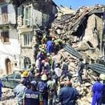 Il dramma del terremoto, tra crolli, polvere e paura