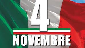 Festa del 4 novembre, la cerimonia a piazza Roma