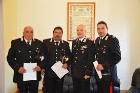 Riconoscimenti per merito ai carabinieri dell'Arma