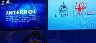 BALI (INDONESIA)  7 – 10 NOVEMBRE 2016.  85^ SESSIONE DELL'ASSEMBLEA  GENERALE DELL' O.I.P.C. -INTERPOL