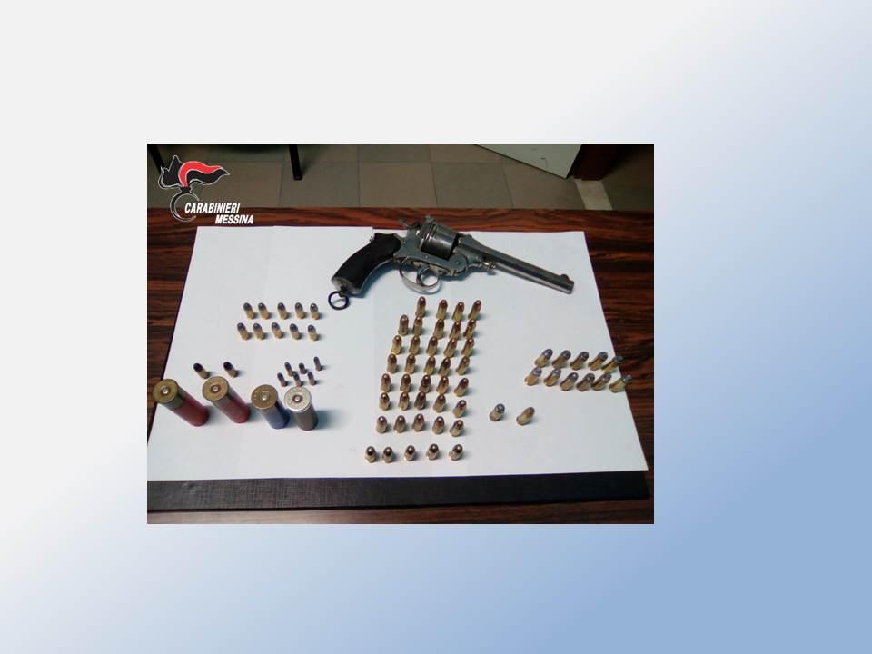 Messina, Armi e munizioni rinvenute sulla spiaggia dai Carabinieri