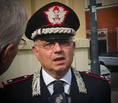 Il Generale di Divisione Angelo Agovino in visita al Comando provinciale di Latina