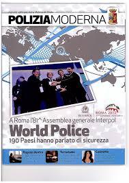 Al via oggi la tre giorni di incontri organizzata da Poliziamoderna, mensile della Polizia di Stato,  legata ad altrettanti libri scritti da poliziotti, che si sono cimentati con l'arte narrativa