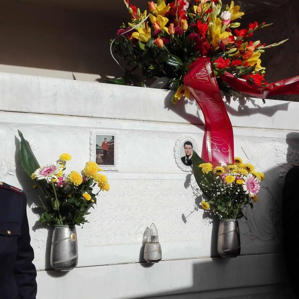 Barcellona Pozzo di Gotto. La Polizia ricorda l'agente Francesco Aliquò, vittima del dovere