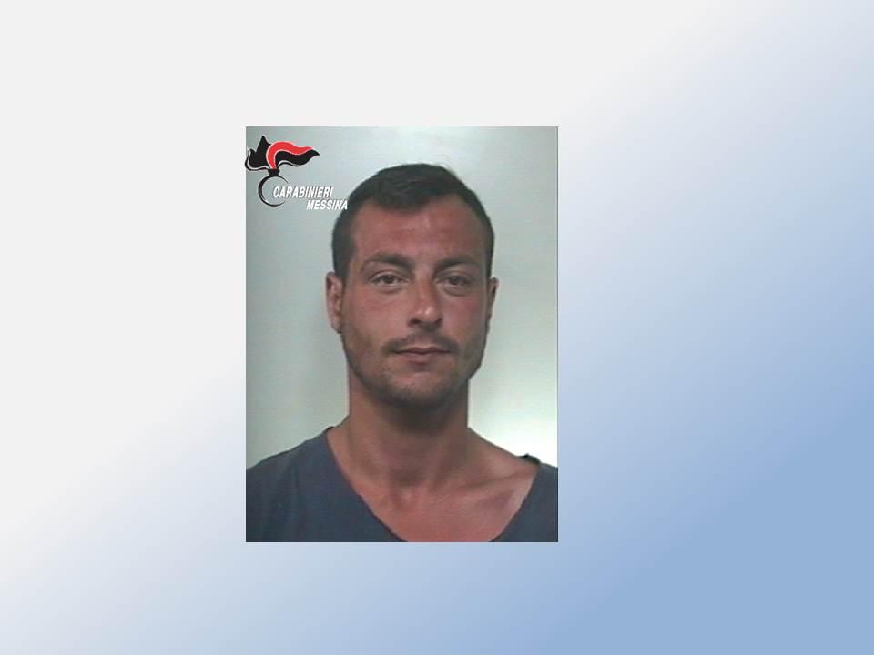 Messina: i Carabinieri arrestano pregiudicato 30enne in esecuzione di ordine di carcerazione per detenzione di sostanze stupefacenti ai fini di spaccio