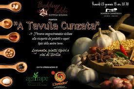 A Tavula cunzata: omaggio ai sapori antichi.  A Valverde tre pasticcieri rivisitano i dolci siciliani