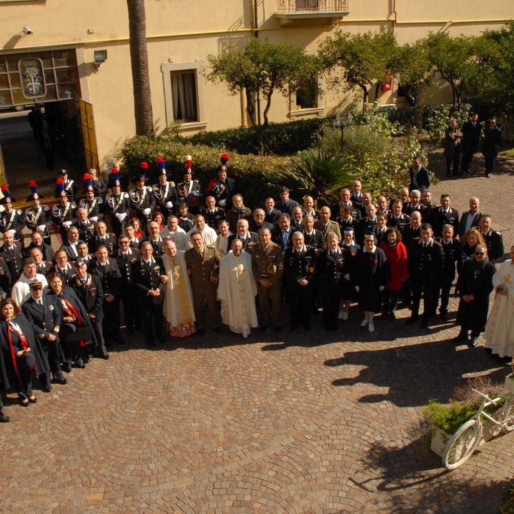 """Celebrazione del rito liturgico di consacrazione della Cappella """"Virgo Fidelis"""". Messina 7 febbraio 2017"""