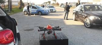 Provincia Frosinone. Sperimentazione impiego Droni per attività di controllo del territorio