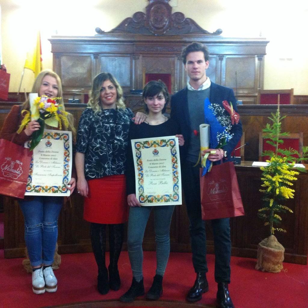 Festa della donna, la premiazione del concorso delle scuole