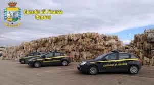 Guardia di Finanza: sequestrati beni per 1,3 milioni di euro ad una società di recupero plastica di Vittoria