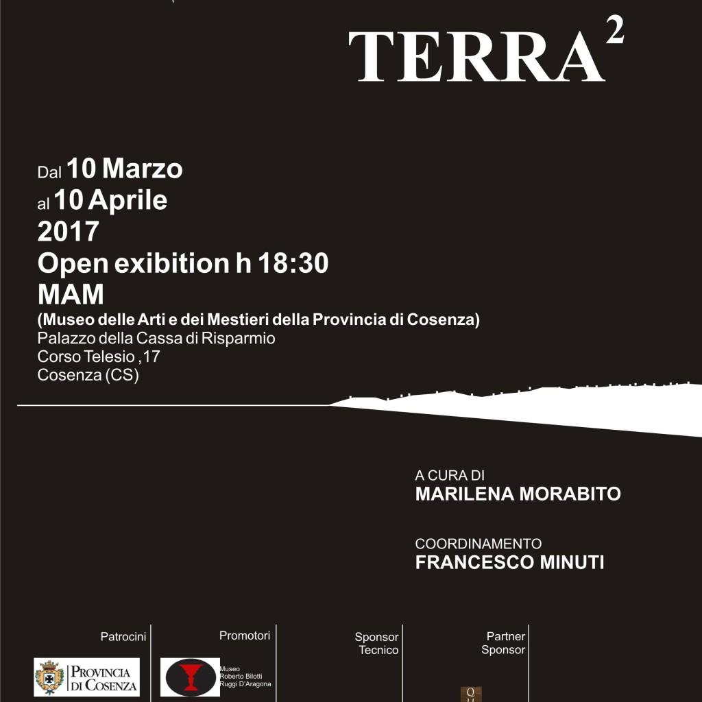 Mostra collettiva  Mater Terra  Museo delle Arti e dei Mestieri (MAM) – Cosenza – 10 Marzo/10 Aprile 2017