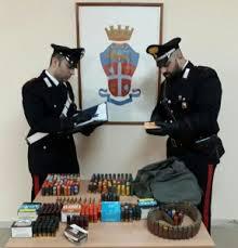 Carabinieri Nucleo Radiomobile – Compagnia Messina Sud :  rinvenuto un ingente quantitativo di munizioni