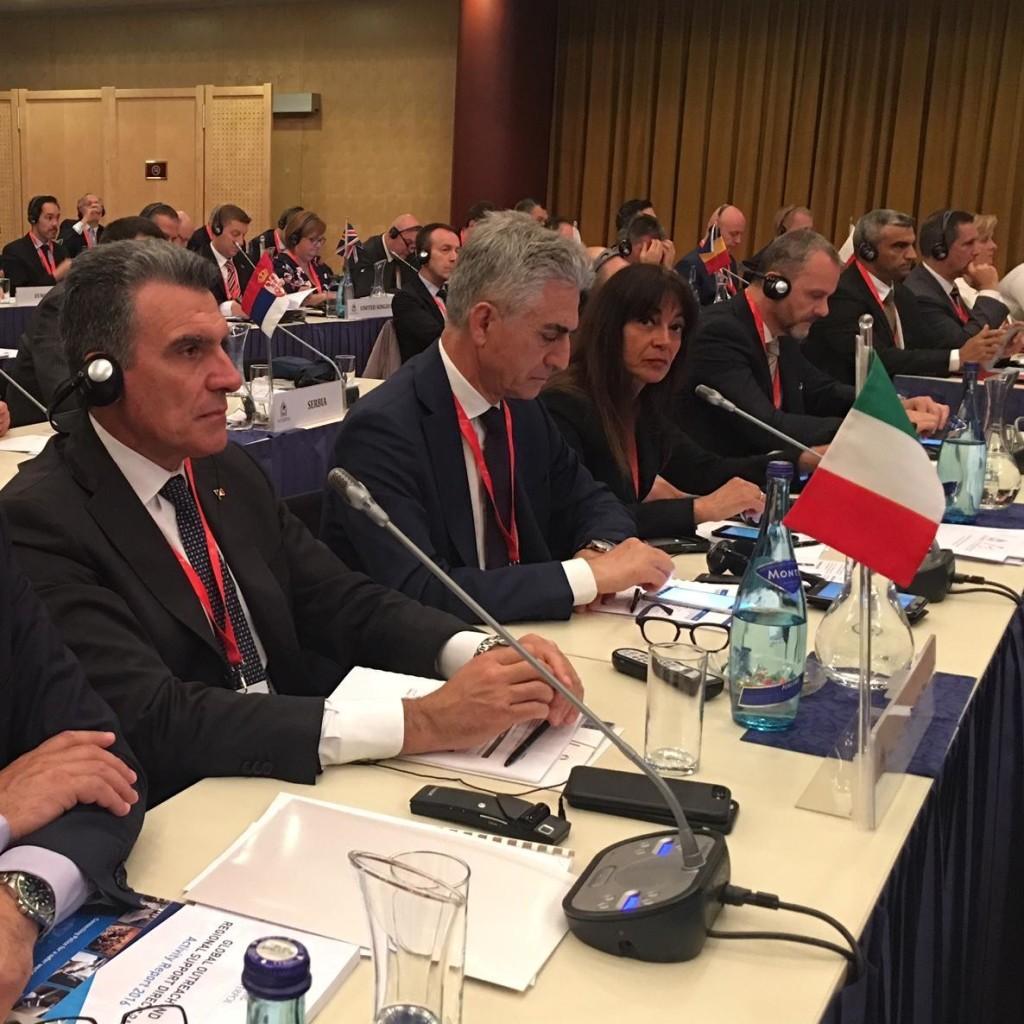 ST. JOHANN IM PONGAU (AUSTRIA) 16 – 18 MAGGIO 2017.  45^ CONFERENZA REGIONALE EUROPEA DELL'OIPC – INTERPOL