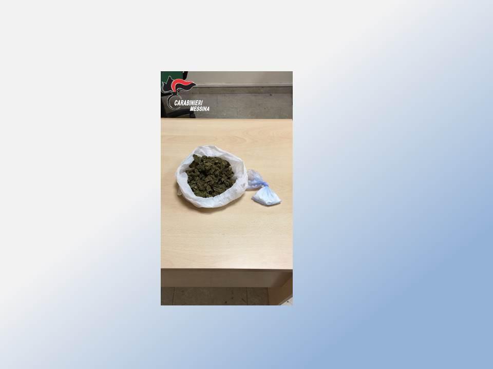 CARABINIERI MESSINA : RINVENUTA DROGA IN UN VANO ASCENSORE
