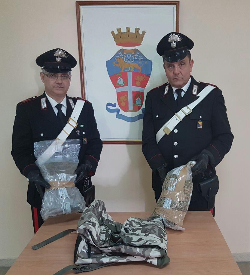 Messina, dopo un folle inseguimento sulla Statale 114 i Carabinieri arrestano un 27enne ed un 45enne