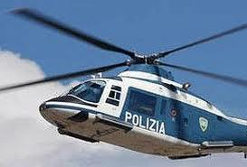 Gualtieri Sicaminò. Salvo uno speleologo grazie all'intervento di un elicottero del 5° reparto volo della Polizia di Stato