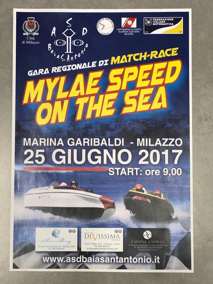 Domenica 25 gara di motonautica nello specchio d'acqua della Marina Garibaldi