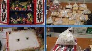 Rinvenuti 500 gr. di cocaina nascosti in un presepe peruviano trasportato da Lima a Milano nel bagaglio di una badante