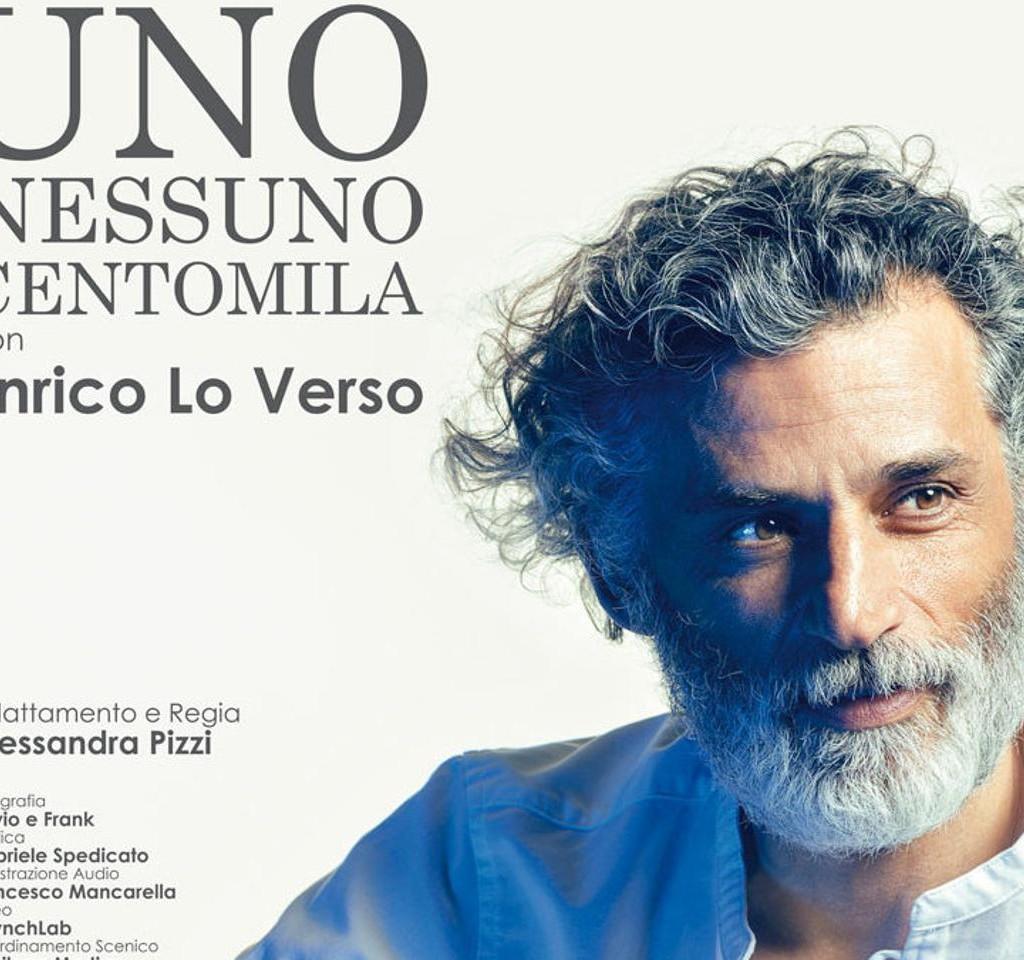 """Enrico Lo Verso, """"Reciterò Pirandello ancora per dieci anni"""""""
