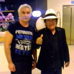 Il maestro Francesco Maio incontra a Zafferana il mitico Albano