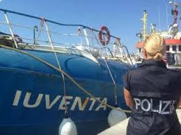 "Lampedusa, sequestro preventivo motonave ""Iuventa"" della ong tedesca ""Jugend Rettet"""