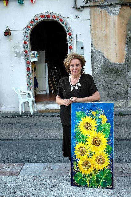 Franca Maisano, fascino discreto dell'arte fatta in casa