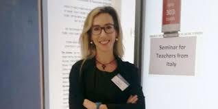 La teatina Alessia Argentieri al seminario sulla Shoah in Israele