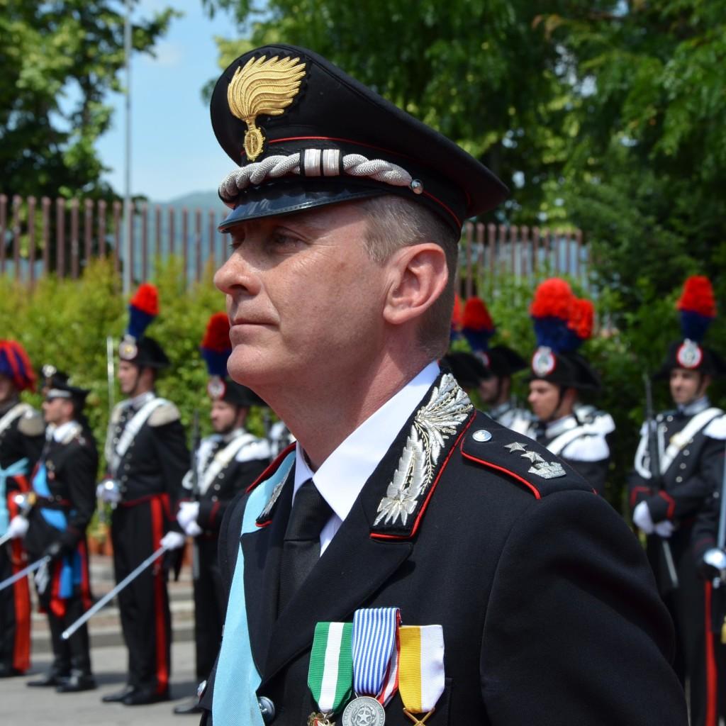 Pistoia. Cambio, nella mattinata odierna, all'Ufficio Comando del Comando Provinciale Carabinieri di viale Italia