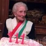 """Festeggiata """"nonnina"""" di Milazzo per i suoi 111 anni"""