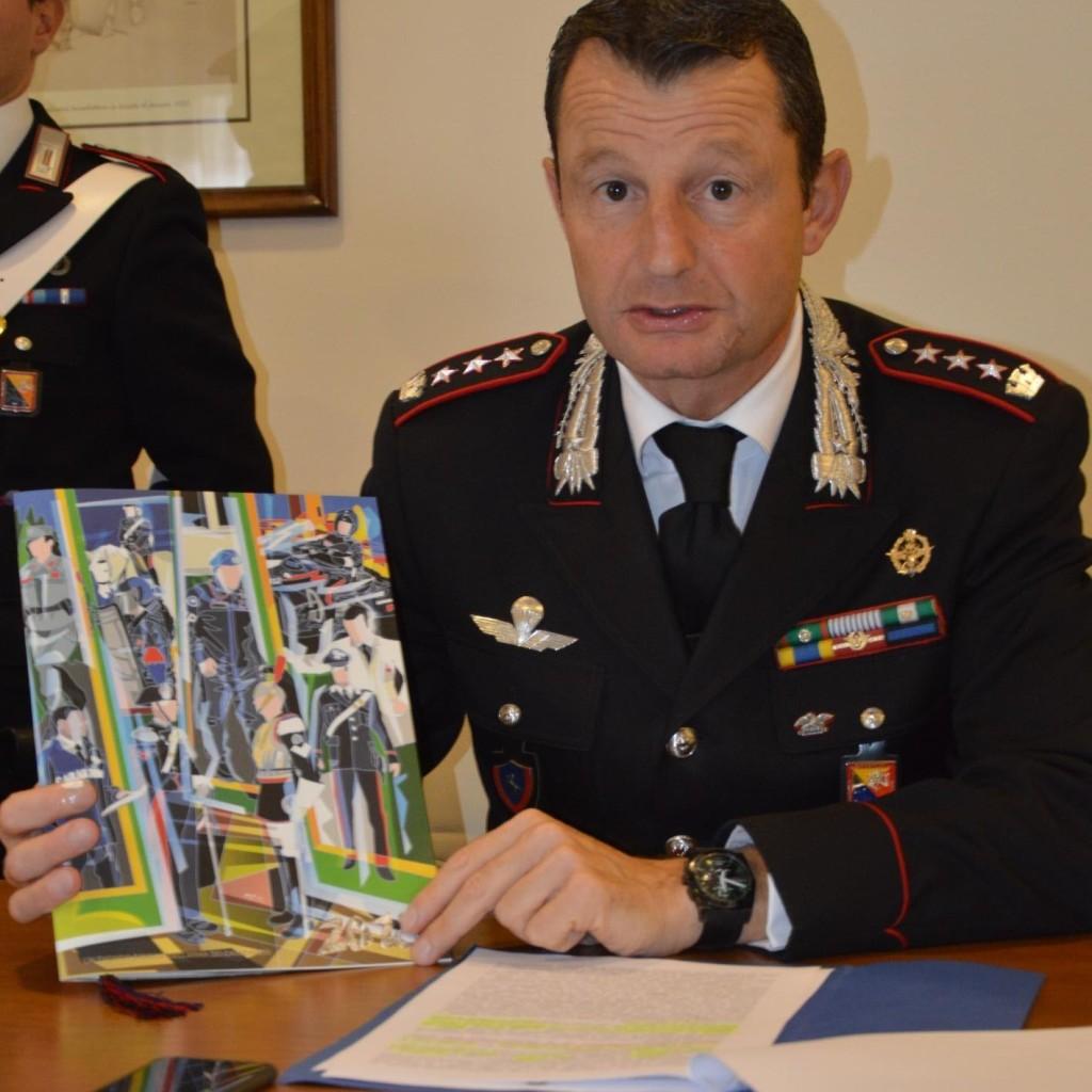 Messina. Presentazione  del Calendario Storico e dell'Agenda 2018  dell'Arma dei Carabinieri
