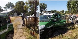 Attività dei Carabinieri Forestali di Terracina