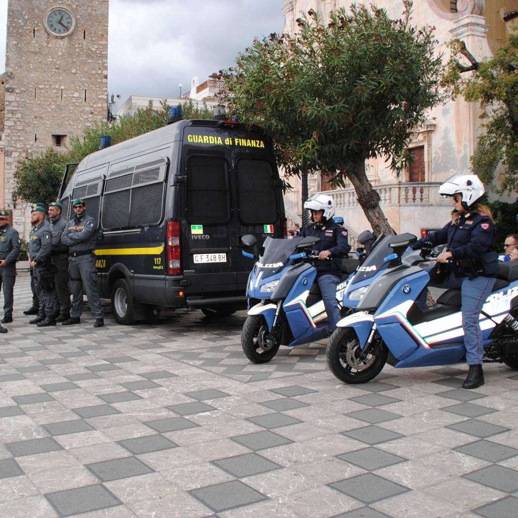 G7 Pari Opportunità. A Taormina riparte il dispositivo per l'ordine e la sicurezza pubblica